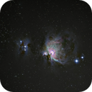 M42 - Orion Nebula with home-made Barn Door Tracker,                                alexhollywood