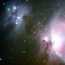 Orion and Running Man Nebulae,                                Nikkolai Davenport