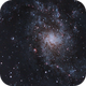 Messier 33 Triangulum Galaxy,                                Bruce Donzanti