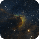 SH 2-155, The Cave Nebula in HaSHO,                                Madratter
