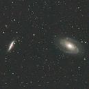 The Bode's Galaxy and The Cigar Galaxy,                                raf2020
