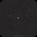 M27 - Dumbbell nebula during bright Moon,                                Michal Vokolek