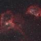The Heart & Soul Neulae, IC 1805 and IC 1848,                                Steven Bellavia
