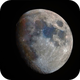 Moon with 420mm and RGB,                                Joschi