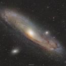 Messier 31 - The Andromeda Galaxy,                                Henrique Silva