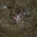 NGC 3372 Eta Carina Nebula and the Southern Cross (widefield),                                Eshan Toorabally