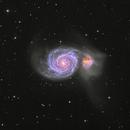 The Whirlpool Galaxy (reprocessed),                                VankaTa