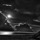 Moonrise from Corolla, NC on August 6, 2020,                                JDJ