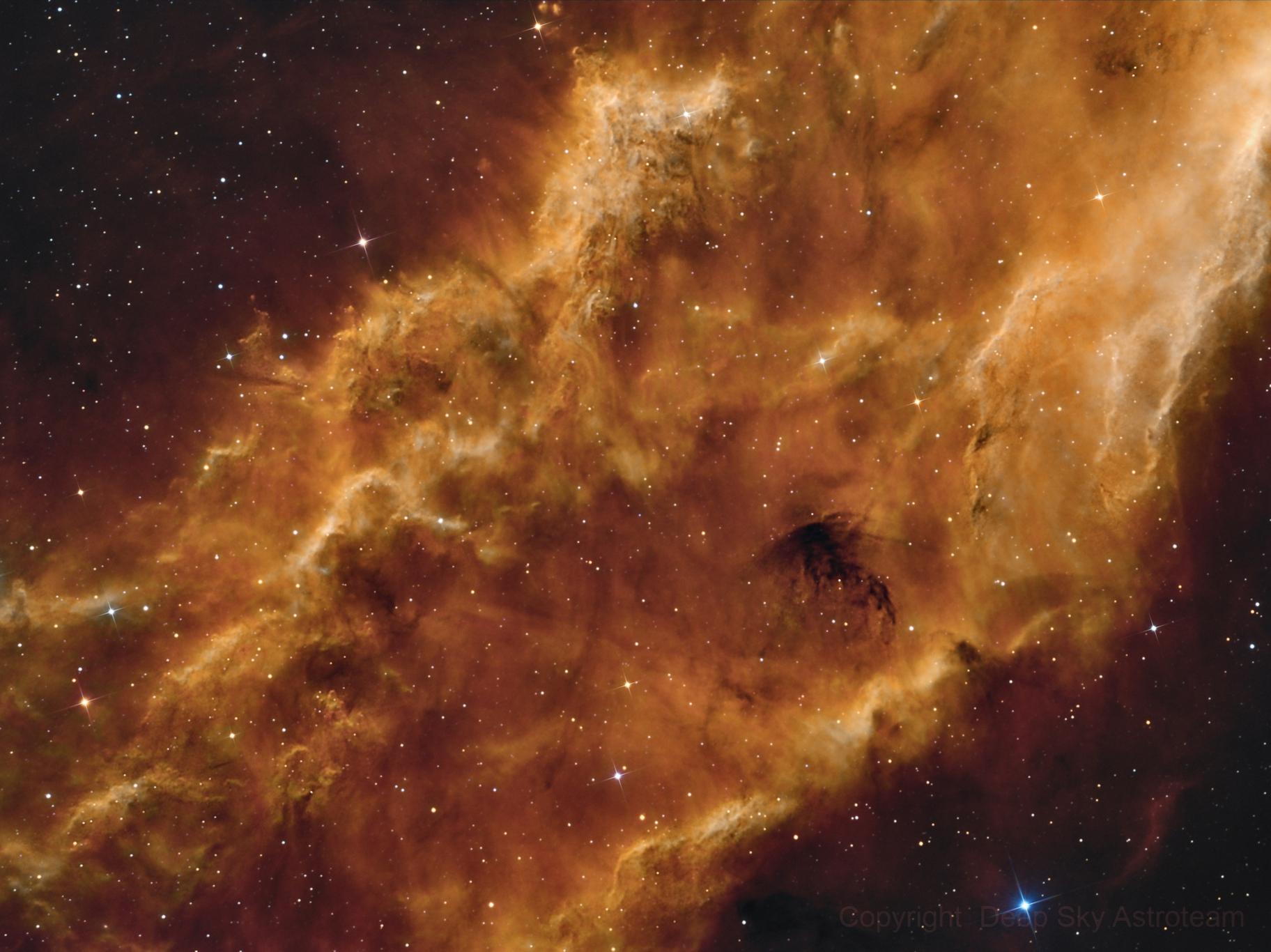 NGC 1499 California Nebula,                                Frank Iwaszkiewicz