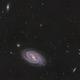 M109 Barred Spiral Galaxy and Friends,                                niteman1946