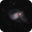 M51 galaxy color picture,                                Niels V. Christensen