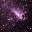 Swan Nebula,                                Dylan Woodbrey
