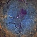 IC-1396 Elephant Trunk Nebula - Narrowband SHO,                                Eddie_R