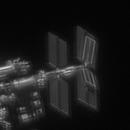Animation of the ISS, new solar battery 01.07.2021,                                Khisamutdinov Maksim