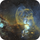 The statue of liberty nebula,                                Erik Pirtala