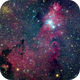 NGC2264  and the Christmas tree cluster(crop),                                YangKW