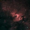 Cave Nebula with (kinda) true-color stars,                                Aaron Freimark