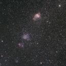 NGC 330,346,371,395,                                Gabriele Gegenbauer