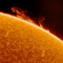 Big solar prom observed on 18 Sep 2021,                                AstrOdyssey