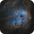 IC410 - The Tadpole Nebula,                                Samuli Vuorinen
