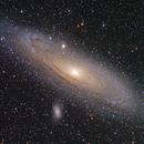 M31 Andromeda Galaxy,                                Dan Crosse