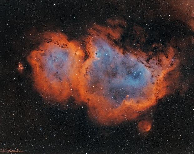 """""""Soul on fire"""" (IC 1848 - HOO),                                Jean-Baptiste Auroux"""