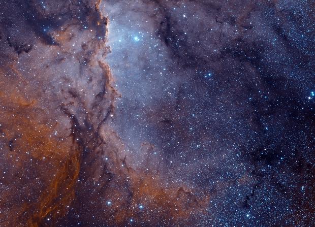 NGC 6188 Hubble Palette,                                Martin Mutti