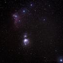 Orion -- In The Night Sky of Alaska,                                AuGusT.Fan