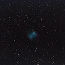 M27 Dumbell Nebula,                                Tony Blakesley
