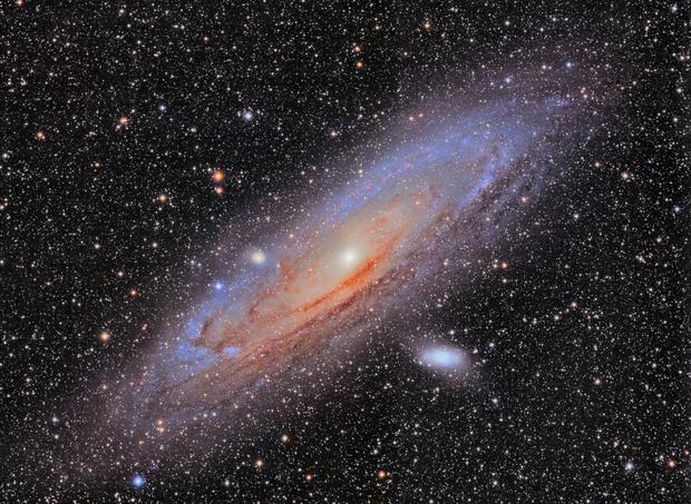 The Andromeda Galaxy,                                Gabe Shaughnessy