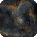IC 1805 - Heart Nebula SHO,                                Jason Doyle Sr