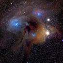 Rho Ophiuchi Region,                                M.J. Post