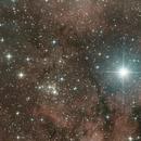 NGC 6910 e Sadr,                                Lorenzo Dal Molin
