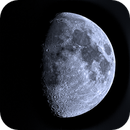 Gibbous Moon on last day of May 2020,                                Harold Freckhaus