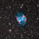 M 27 with 150/750 & Skywatcher Eq 3.2 unguided,                                gnotisauton84