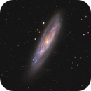 M98 and Abell 1499,                                Jim Thommes