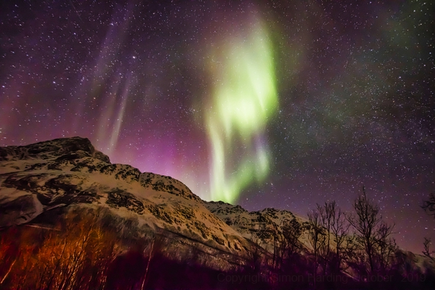 Norway Aurora (March 2018) Reprocess,                                simon harding