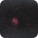 Rosette Nebula Widefield with Samyang 135mm lens,                                PeterCPC
