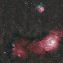 Messier 20 & Lagoon Nebulae group,                                Ronny Kaplanian