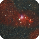 NGC2264 Cone Nebula/Christmas Tree Cluster in Monoceros,                                PeterCPC
