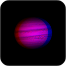 Jupiter in March, 2014 - 3D anaglyph animation (use red/blue glasses or red/blue colour filters to view),                                Dzmitry Kananovich