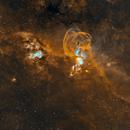 NGC 3576 - Statue of Liberty Nebula,                                mr1337