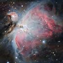 M42 a.k.a. Orien nebula,                                Jamee Donithan