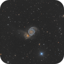 M51 Whirlpool Galaxy,                                Camille COLOMB