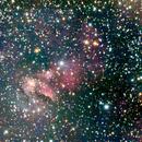 Part of IC4592 - Blue Horsehead Nebula,                                Sventek