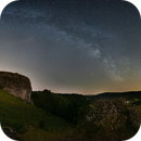 Milky Way on the Rocks,                                  Markus A. R. Lang...
