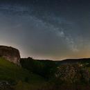 Milky Way on the Rocks,                                Markus A. R. Langlotz