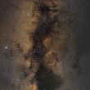 Milky Way mosaic (from Sagittarius to Cygnus),                                Andrea Pistocchini - pisto92
