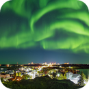 Panorama of the Aurora Dancing over Yellowknife,                                Alan Dyer