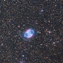 M27 (Dumbbell Nebula) LRGB + Ha-OIII,                                  José Manuel Taver...